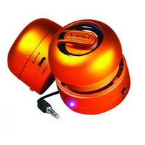 Set De 2 Mini Bocinas Portátil Estereo X-mini Max 2 Orange