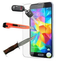 Mica Cristal Templado Galaxy S6 S5 S4 + Iphone 6 5 5s 4 4s