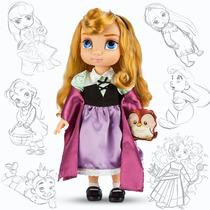 Muñecas Aurora Tiana Mulán Y Más Animator 40cm Disney Store