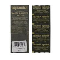 Aquamira Militares Agua Purificación Tablets-50 Paquete