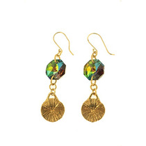 Swarovski Elements Aretes Sol Vitrail Medium Gma