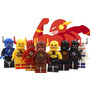 Coleccion Set De Flash 8 Diferentes Figs Compatible Con Lego