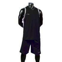 Uniforme Basketball Negro-plata Short/calcetas Galgo