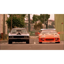 1:24 Set Toyota Supra Vs Dodge Charger R/t --fast &furious--