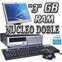 Computadoras Baratas Hp Para Cyber + Lcd Completas