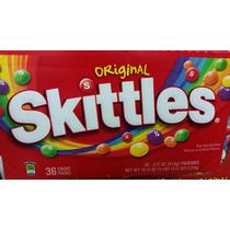 Skittles Dulces Originales Y Variedad 100 % Americanos