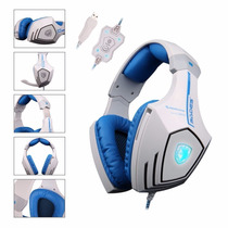 Sades A60 7.1 Usb Surround Sound Stereo Over-the-ear Gaming