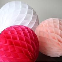 10 Lamparas Chinas Diseño Especial Panal : Bodas, Xv Años