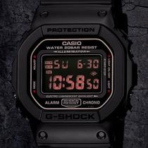 Casio G Shock Dw 5600 Edición Militar / Cristal Mineral / Wr