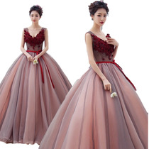 Vestido De Xv Años 15 Quinceañera Vino Flores Importado En