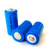 Bateria Recargable Lc 16340 4.2v 4800 Mah Li-ion Pila Laser