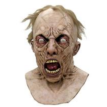 Guerra Mundial Z Cientifico Zombie Mascara Deluxe Con Peluca