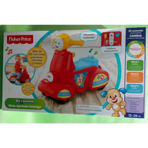 Moto Musical Infantil Fisher Price Con Canciones Y Frases