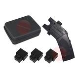 Paralizador Teaser Pistola 3 Cartucho Laser Alarma Y Estuche