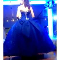 Vestido De Xv Años Azul Rey En Venta En Ecatepec De Morelos