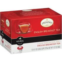 Twinings Té De Desayuno Inglés K Copas 12 Ct (paquete De 6)
