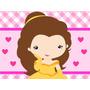 Kit Imprimible Princesa Bella Y La Bestia Baby Invitaciones