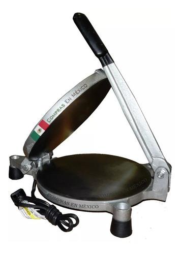 Máquina Para Hacer Tortillas De Harina Eléctrica 110v 20 Cm