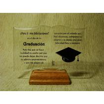 20-d Libro De Cristal Biselado Graduacion