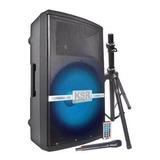 Bafle Bocina 15 1200w Kaiser Tripie Microfono Recargable