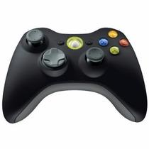 Control Inalambrico Microsoft Xbox 360 Negro Para Pc Y Xbox