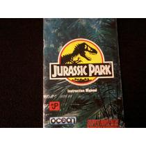 Instructivo Jurassic Park Muy Buen Estado Para Coleccionar
