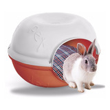 Casa Cama Conejo Perro Gato Plast Pet Cave Roja Envío Gratis