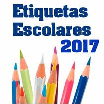 Etiquetas Escolares Kit 2016 Ahora Con 5 Gigas De Material
