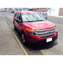 Impecable Ford Explorer Xlt 2011