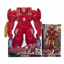 Hulkbuster 45cm Y Ironman Mark 43 Electronico-combo Hasbro
