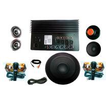 Kit Completo De Amplificador De Audio Ideal Para Rockolas