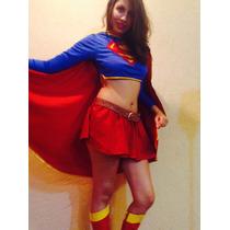 Disfraz Super Chica, Supergirl, Superheroina