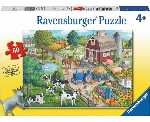 Rompecabezas Ravensburger 60 Pzas  La Granja