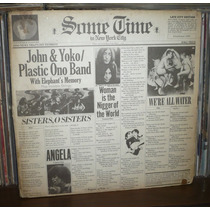 John & Yoko 2 Lp Some Time In New York City Ex Beatles