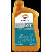 Repsol Moto Sport 4t 10w40 Semisintetico. *