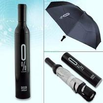 Sombrilla Paraguas Forma De Botella 3 Diseños