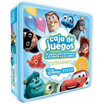Caja De Juegos Disney Pixar Damas Memoria Loteria Novelty