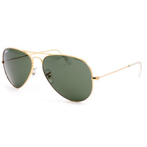 Lentes De Sol Ray Ban Aviator Rb 3025 Italianos Originales