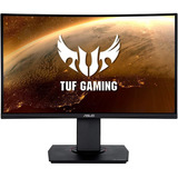 Monitor Asus Tuf Gaming Vg24vq 23.6 Curvo Full Hd Negro