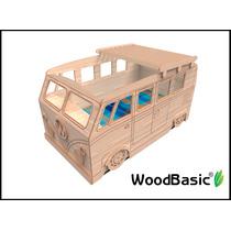 Cama De Combi Volskwagen Woodbasic