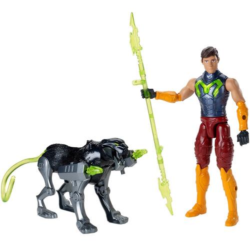 Max Steel, Figura De Acción Con Pantera