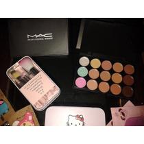 Set Paleta Mac + 7 Brochas Hello Kitty Oferta Calidad
