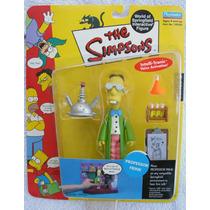 Figura Nueva Profesor Frink Simpsons Playmates Serie 6