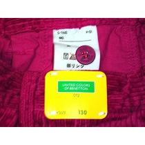 Benetton Colors 012 Pantalon Niño Japones Pana Talla 130 Hm4
