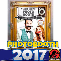 Kit Imprimible Photo Booth Accesorios Props 3x1 Bodas 2016