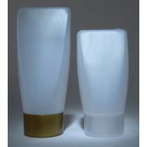 Envase Botella Frasco Plastico Invertida Cosmetica 45ml 35ml