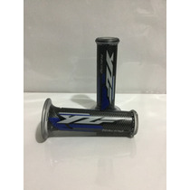 Puños Gel Harris Para Moto Yzf Azul Racing R1 R6 R3 R15