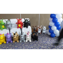 Juguete Caballito Montable Plastico Animalitos Infable