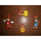 Lote De 4 Figuras Promocionales Conejo De Nesquick