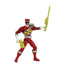 Power Rangers Dino Charge - 5 Action Hero Ranger Rojo